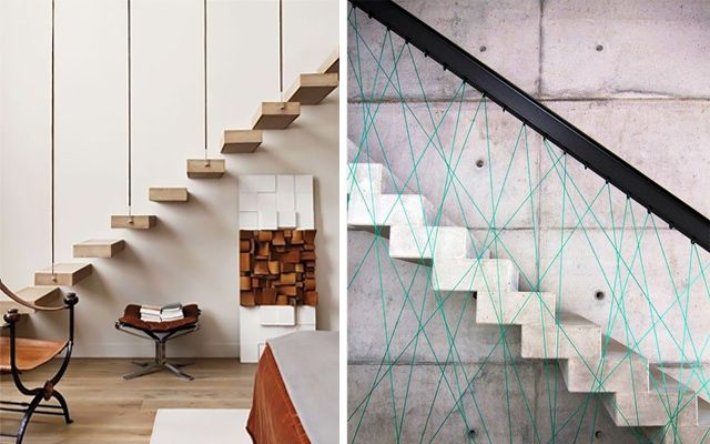 Las 25 mejores ideas sobre escaleras voladas en pinterest - Escaleras de decoracion ...