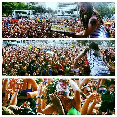 ULTRA MUSIC FESTIVAL 2012 by Steve Aoki