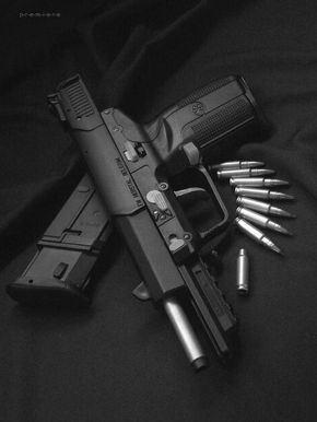 FN Five Seven Hi-Velocity Pistol |from Weapons Lover Tumblr...THIS BOARD IS FOR SELF-DEFENSE...AND WAS BUILT BY JOSE JOAQUIN PARRILLA