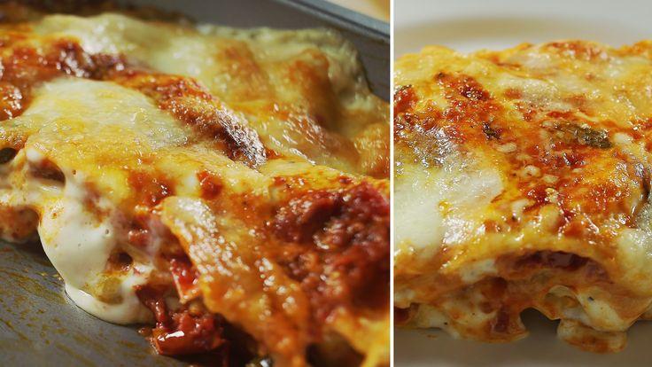 Nagyjából ki lehet jelenteni, hogy az olasz tészták otthoni elkészítése az egyik legszebb konyhai művelet. Ha beszereztek egy tésztanyújtót és kipróbáljátok, tuti rá fogtok kattanni. Nyilván nem tartozik a leggyorsabb ételek közé, itt most nem is a 10-15 perc alatt összedobott olasz…