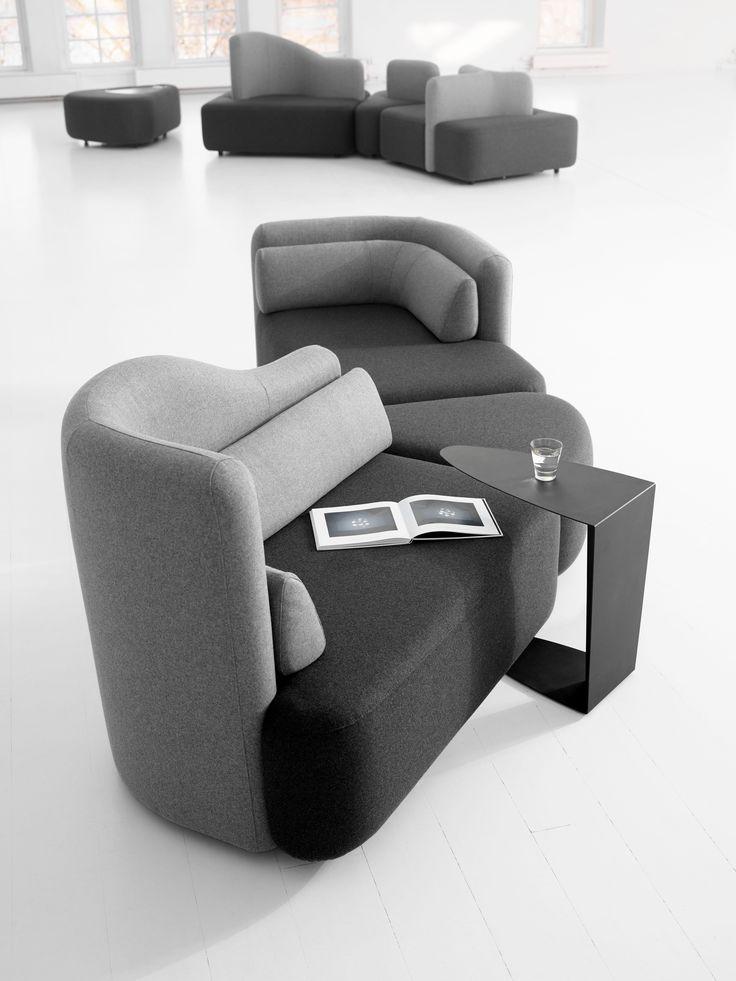Moderne Indivi 2 Sofas - Design Sofas - Qualität von BoConcept - einrichtungstipps junggesellenwohnung