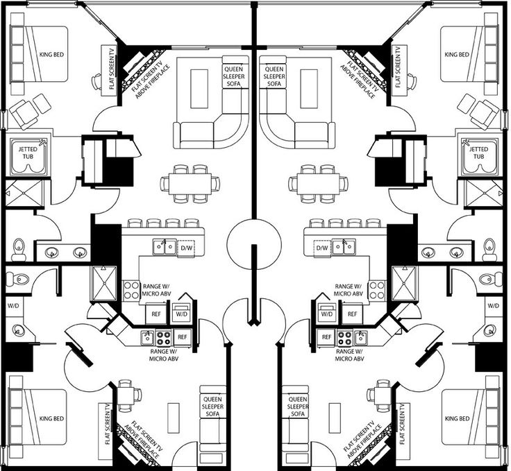 Westgate Smoky Mountain Resort Floor Plans: Need To Make This Into A Tiny House Floorplan