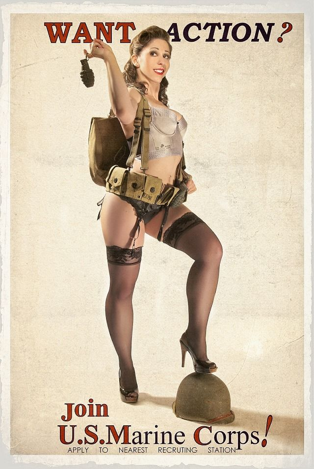 I should probably pin this on my pin up board but she is more gun related soooooo...