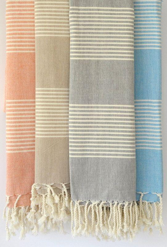 Traditional Turkish Bath Towels