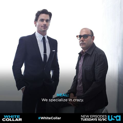 Neal and Mozzie #whitecollar