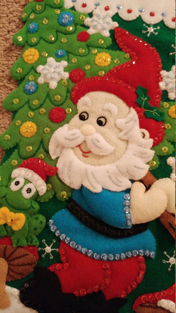 GNOME: Bucilla completado 18 media de la Navidad