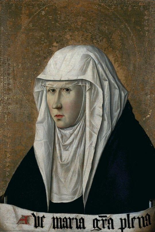 ❤ - Antonello da Messina (1430 - 1479) - Virgo Advocata
