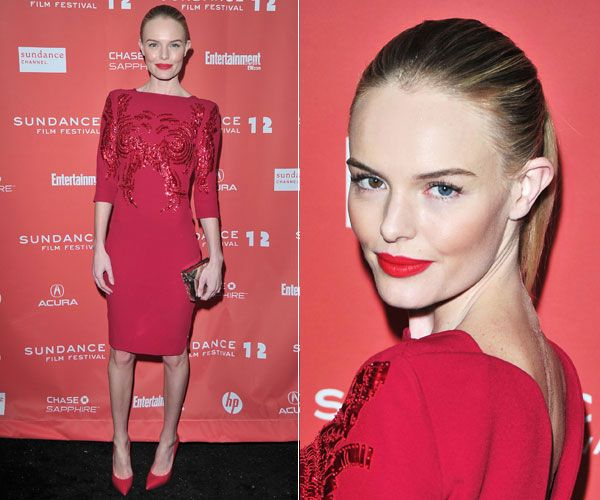 Kate Bosworth's Red Carpet Looks - Kate Bosworth Hair and Makeup Looks 2012 - Harper's BAZAAR