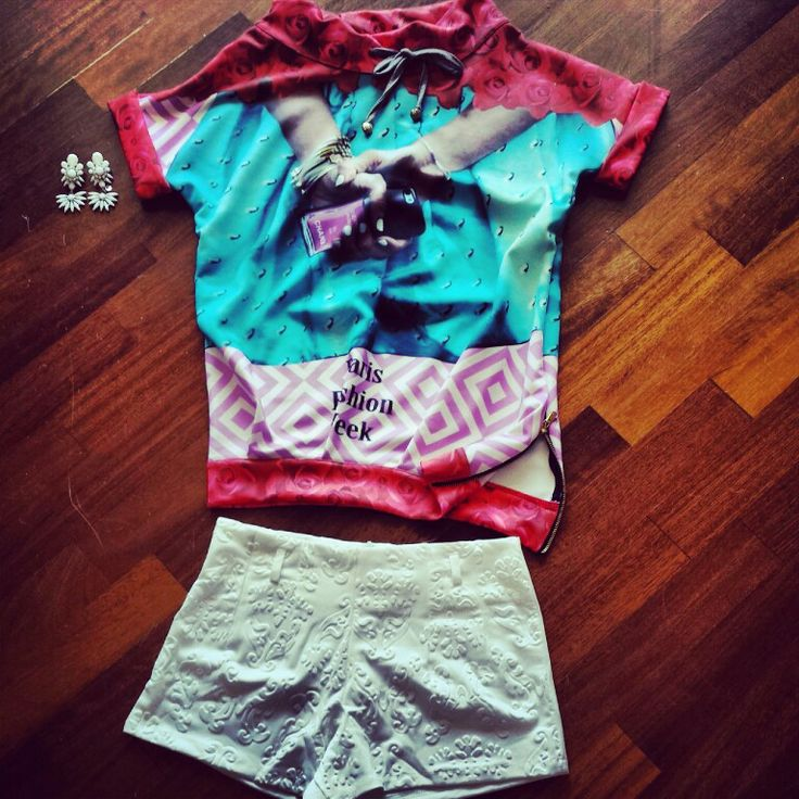 Felpina fashion con short