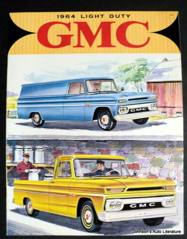 GMC 1964 Light Duty Truck Brochure Canadian Market