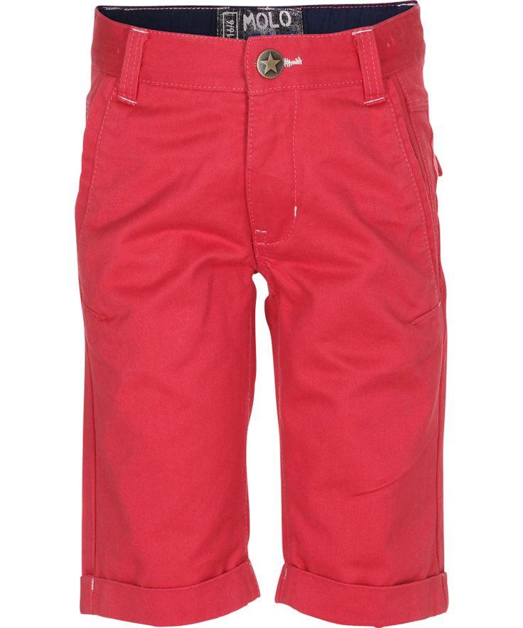 Molo Flaming Red Capri Shorts #emilea