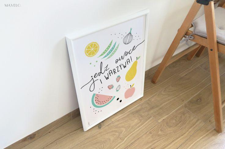 Plakat do kuchni do wydruku metamorfoza mojej kuchni, cz.1
