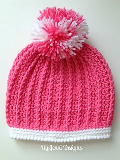 Ribbed hat ~ free pattern