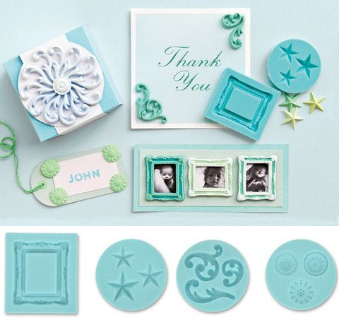 Crafter's Clay Frame & Flourishes Silicon Mold - DECO Clay Craft Academy Shop
