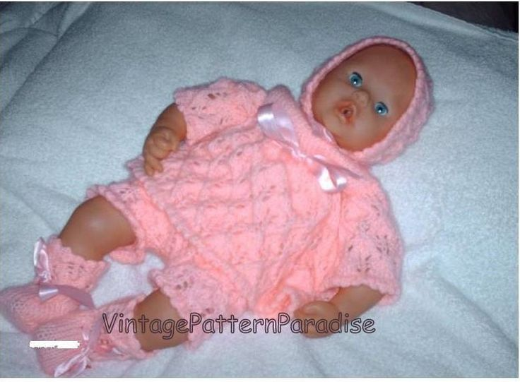 Baby Annabell Doll Clothes knit dress set pants dress ...