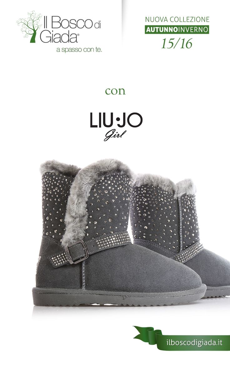 Nuova Collezione #LIUJO Autunno-Inverno 15/16. #Scarpe per #bambini, #ragazzi e #donne alla #moda. Acquistale su www.ilboscodigiada.it - #shoes #FW1516