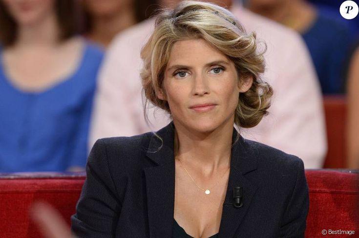 """Alice Taglioni - Enregistrement de l'émission """"Vivement Dimanche"""" à Paris le 9 Septembre 2015"""