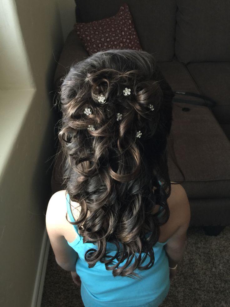 17 Best Ideas About Little Girl Updo On Pinterest Easy