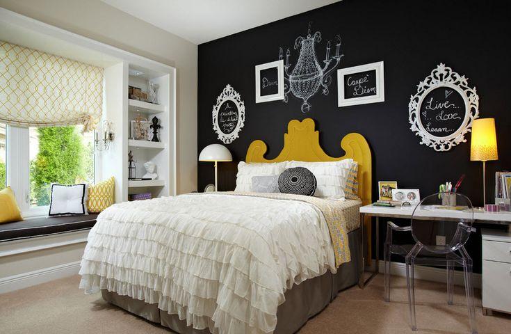Эта стена в спальне — пространство для фантазии! Самые стильные и интересные идеи