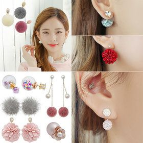 Gmarket - [SOO AND SOO] soo-soo Bonbon so pretty beads earring...