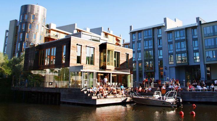 Restaurang Göteborg i Hammarbysjöstad