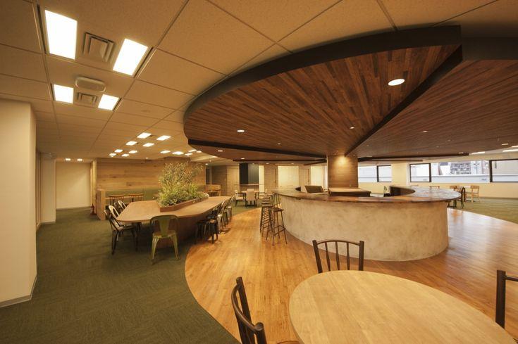 コンセプトは旅するオフィス |オフィスデザイン事例|デザイナーズオフィスのヴィス