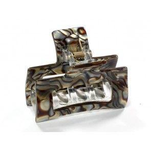 Onyx hair clip