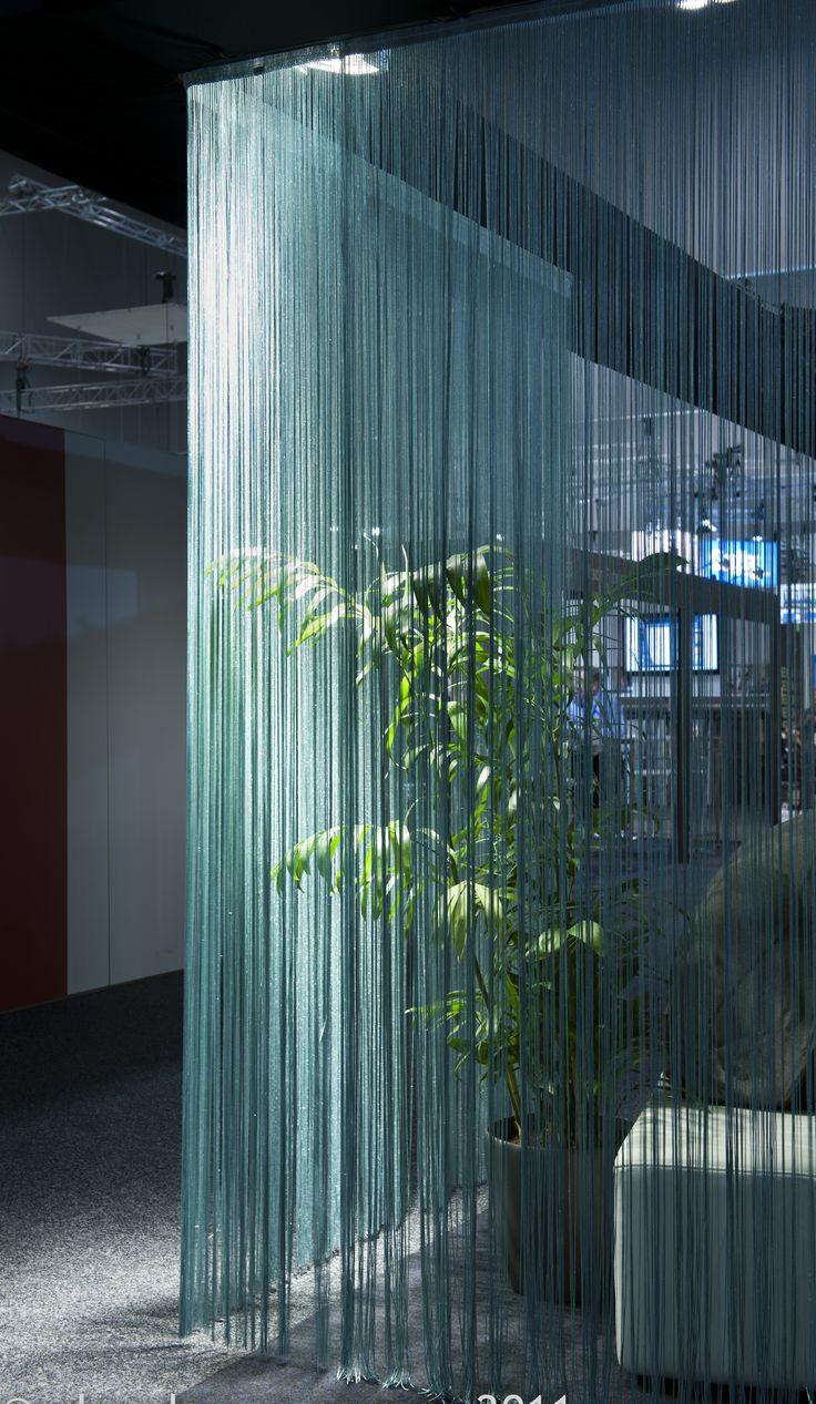 String curtain ideas - String Curtain