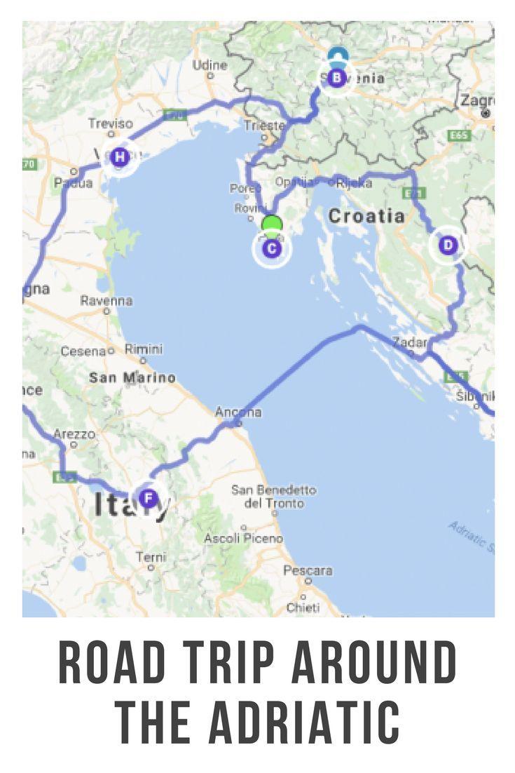 Planen Sie Eine Rundfahrt An Der Adria Slowenien Kroatien Und
