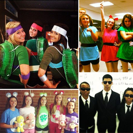 easy group halloween costume ideas for work