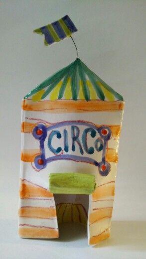 #tendone del #circo #ceramica