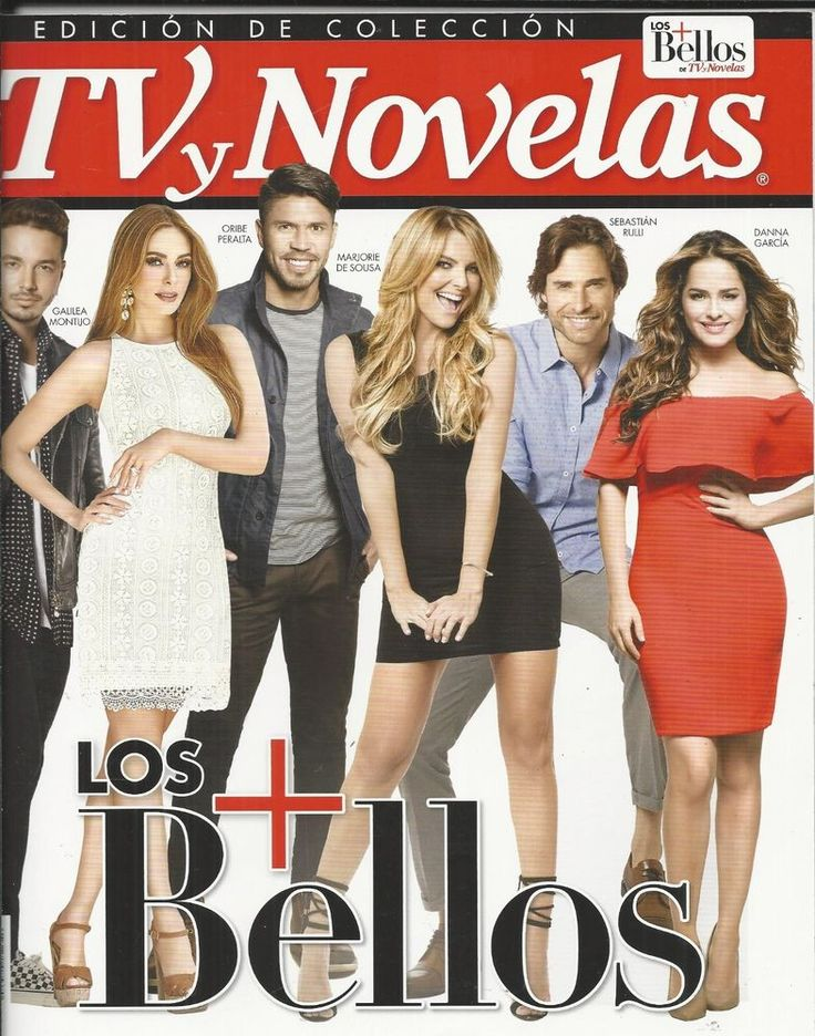 TV y Novelas magazine Most beautiful Danna Garcia J Balvin Marjorie De Sousa