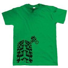 Downhill mtb T-shirt Bike Bicycle Mountain bike Cycling Rider track tshirt new