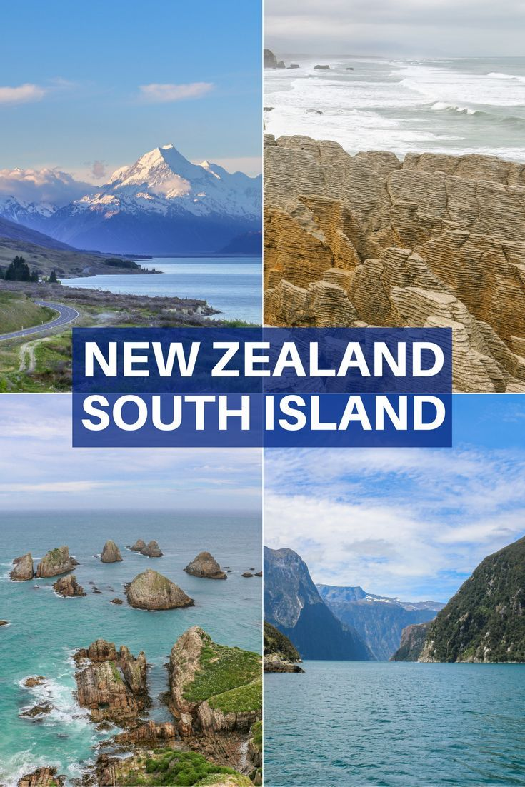 A selection of the best places to visit in the South Island of New Zealand. Includes 13 of our top picks and inspiring photography.  New Zealand, a must-visit destination!