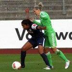 11. Oktober 2012, Frauen-Bundesliga, VfL Wolfsburg vs SC Freiburg 1:0