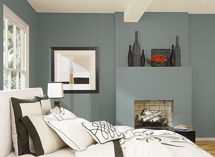 Benjamin Moore Paint Colors   Blue Bedroom Ideas   Beach Glass Blue Bedroom    Paint Color Schemes           Taking its color cue from beach glass. 17 Best images about Bedroom Color Samples  on Pinterest   Blue