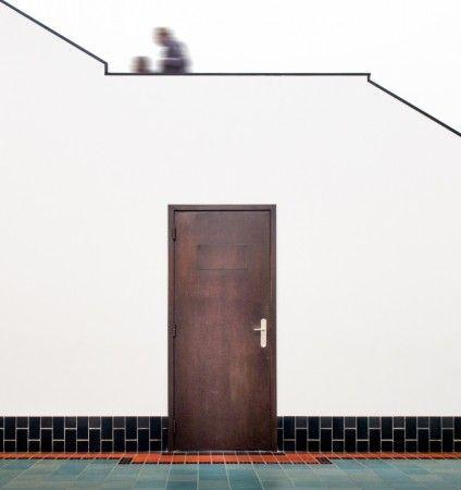 Berlage's door II by Luc Vangindertael