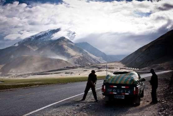 Where: China to PakistanIt took 27 years to build China's Karakoram Highway (aka the Friendship High... - DPerstin/Flickr