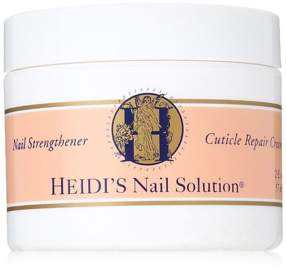 HEIDI'S Nail Strengthener and Cuticle Repair Creme, 2 Ounce ** Click image to review more details.