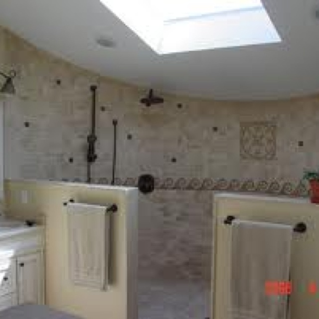 52 best Open shower ideas images on Pinterest   Bathroom ...