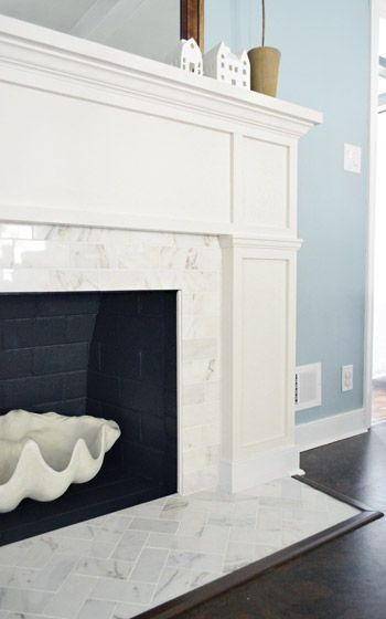 Young House Love | Fireplace Makeover: Stick A Fork In It | http://www.younghouselove.com