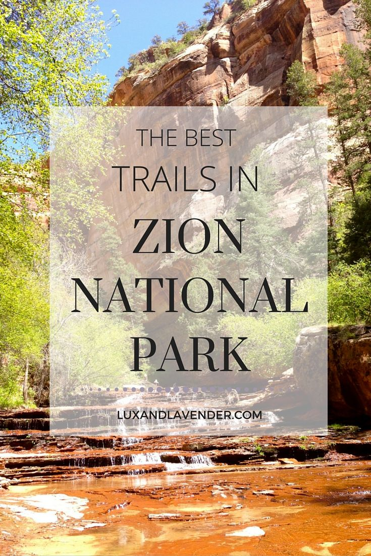 Things to do in Zion National Park? The Hiking Trails of course! From the Subway trail to Angels landing, there are plenty of activities to do while you visit the most beautiful national park in the state of Utah! Camping & Hiking - http://amzn.to/2iquzg5