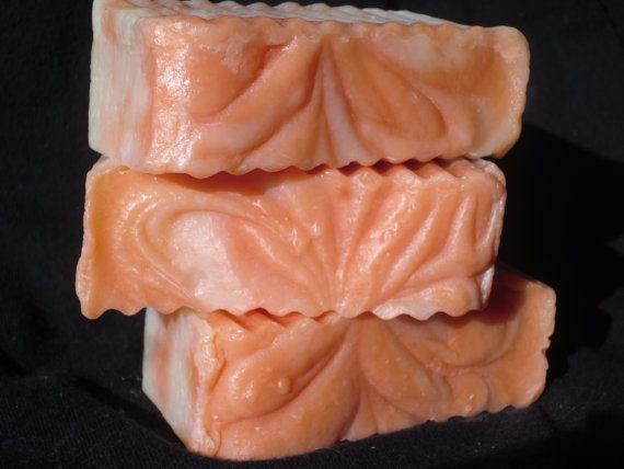Handmade Soaps, come feel the softness!  Sun Ripened Raspberry Cold Process Vegan Soap: Créame Soaps, Cold Process, Etsy Finds, Process Vegan, Raspberry Cold, Sun Ripened, Ripened Raspberry