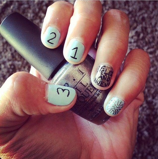 Happy new year :) #nails