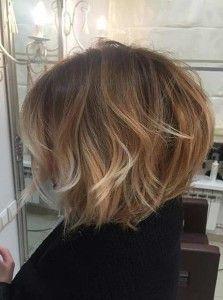 Short Balayage Bob Hairstyle