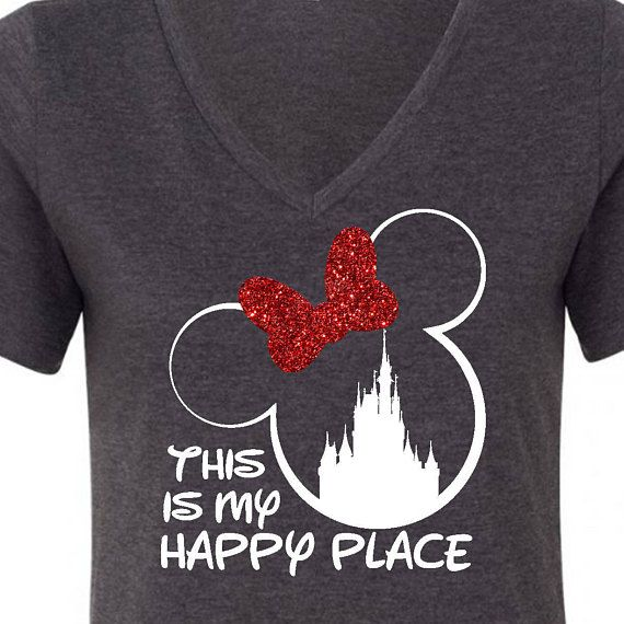 This is my happy place vacation tee
