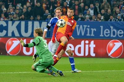 Schalke 2-3 Galatasaray maç özeti izle