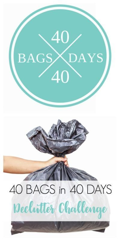 Need to kickstart your decluttering? Take the 40 Bags in 40 Days Declutter Challenge with Refined Rooms!