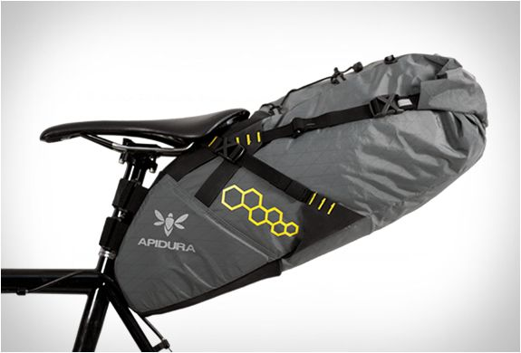 APIDURA | ULTRALIGHT CYCLING BAGS - Apidura is a new brand that makes ultralight cycling bags for bikepacking and distance road cycling. The brand takes weight saving seriously, and their packing systems are designed to optimize bike handling and weight distribution, this enables cyclists to travel farther, faster and more comfortably. The waterproof bags are ultra-light, durable, extremely functional and feature great attention to detail.