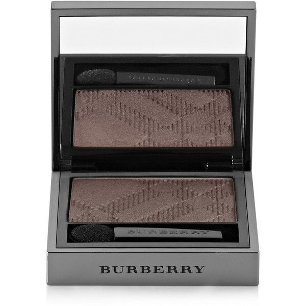 Burberry Beauty Wet & Dry Silk Eye Shadow - Dusky Mauve No.203 (€22) ❤ liked on Polyvore featuring beauty products, makeup, eye makeup, eyeshadow, purple, burberry and burberry eyeshadow